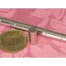 מגנט ניאודימיום גליל - קוטר 6 מ''מ, גובה 12 מ''מ (NC-1200)