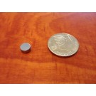 מגנט ניאודימיום דיסק - קוטר 7 מ''מ, גובה 3 מ''מ (ND-1150)